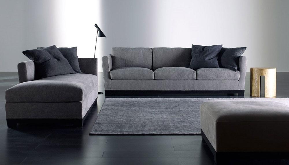 Divani tre posti divano allen da meridiani - Misure divano tre posti ...