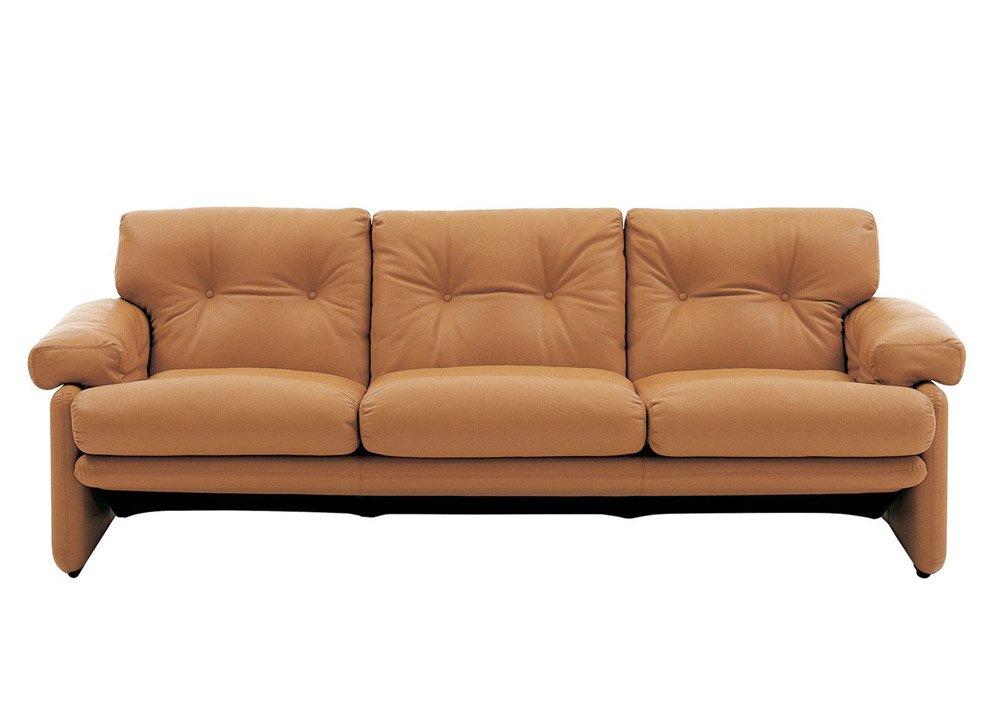 Divani tre posti divano coronado da b b italia - Divano letto b b italia ...