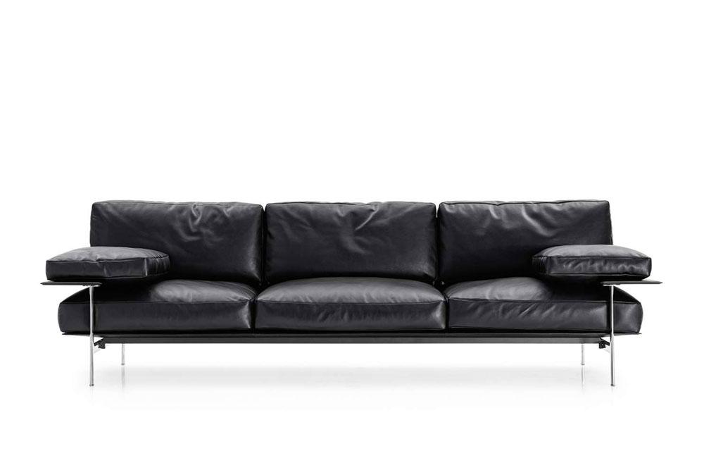 Divani tre posti divano diesis da b b italia - Divano diesis divani e divani ...