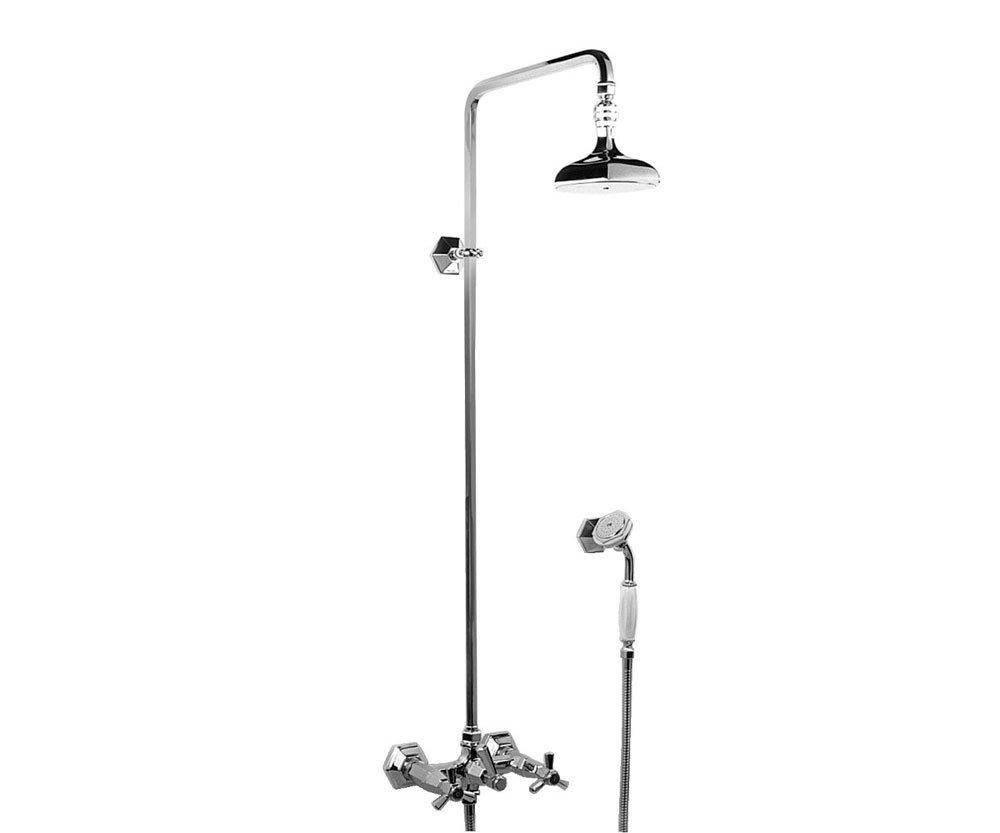 Gruppi doccia e vasca gruppo doccia eccelsa da for Gruppo doccia