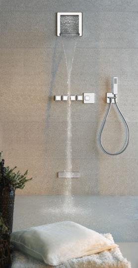 Gruppi doccia e vasca gruppo doccia ispa da gessi for Gruppo doccia