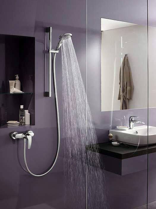 Gruppi doccia e vasca gruppo doccia hansadisc da hansa for Gruppo doccia