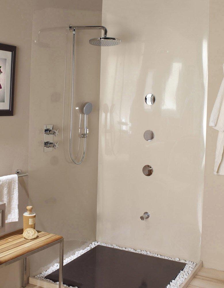 Gruppi doccia e vasca gruppo doccia zoe renovation da bossini for Gruppo doccia
