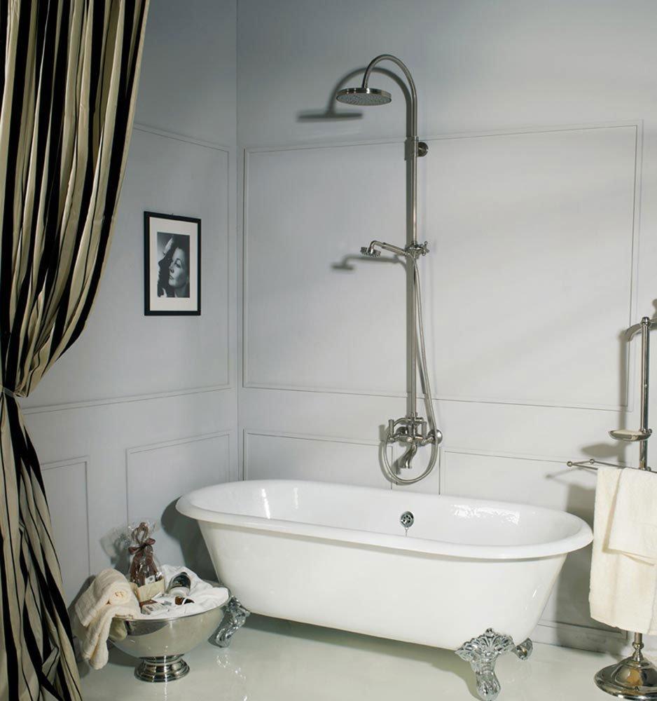 Gruppi doccia e vasca gruppo doccia e vasca liberty for Gruppo doccia