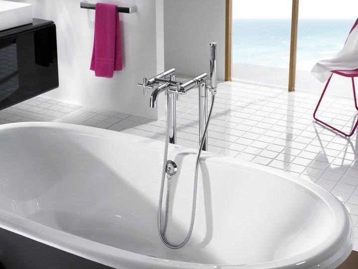 roca armaturen f r dusche und wanne badewannenarmatur loft designbest. Black Bedroom Furniture Sets. Home Design Ideas