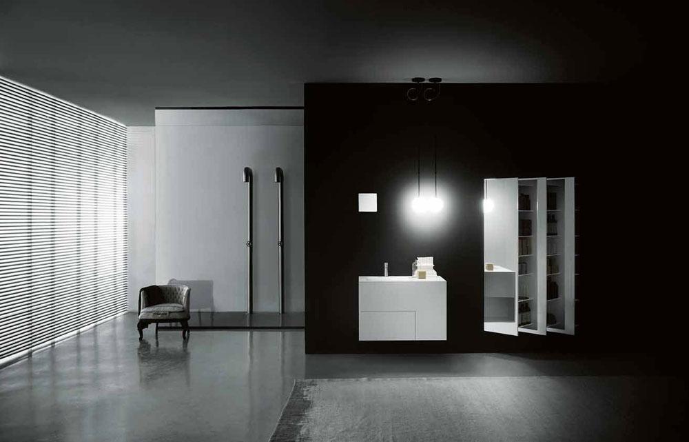 Clairage salle de bain appliqueboccia par boffi bathrooms for Boffi salle de bain