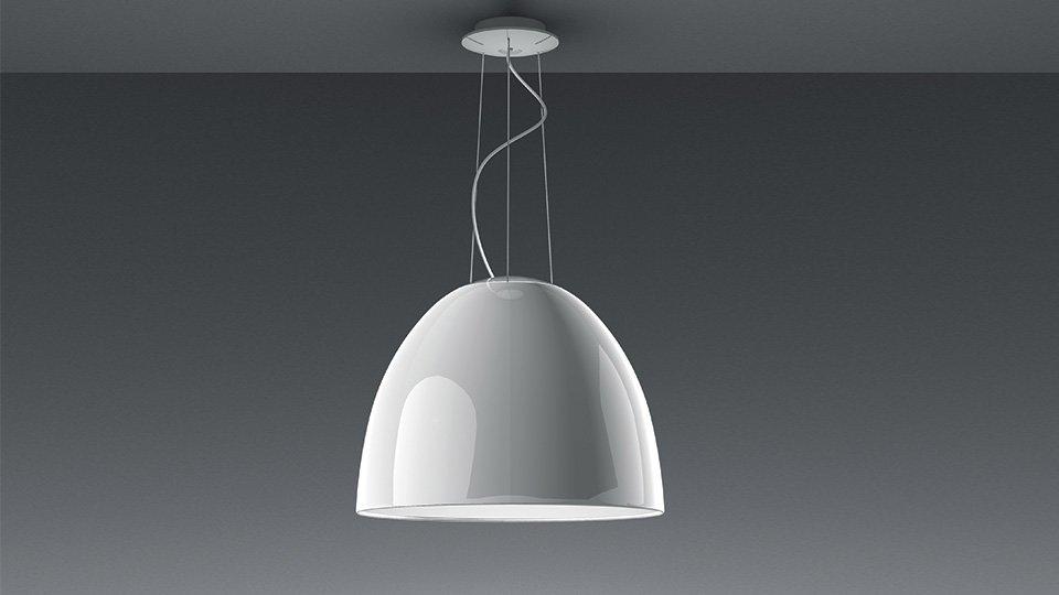 lampadario artemide : Lampade a sospensione: Lampada Nur Gloss Led da Artemide
