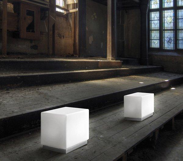 Lampade da tavolo: Lampada Cubi Zero da I Tre