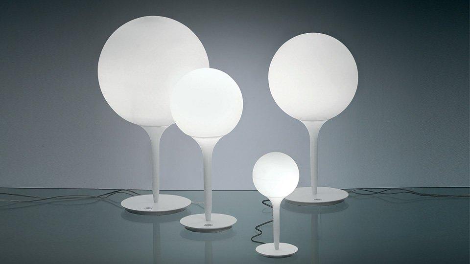 Lampade da tavolo lampada castore da artemide for Artemide lampade roma