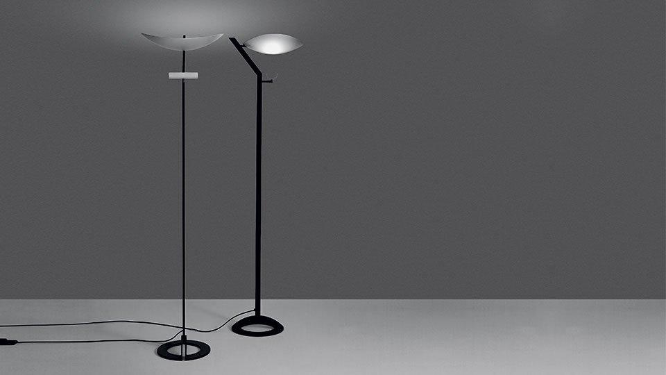 Lampade da terra lampada zen da artemide for Artemide lampade roma