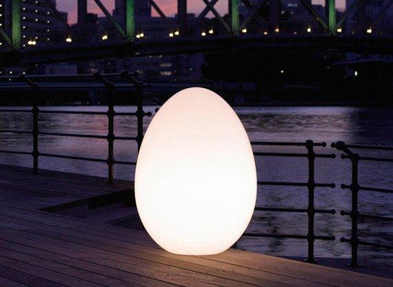 yamagiwa stehleuchten lampe l uovo designbest. Black Bedroom Furniture Sets. Home Design Ideas