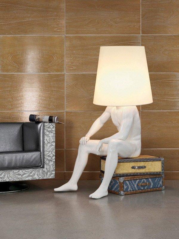 Lampade da terra lampada man1 da bizzotto for Webmobili outlet
