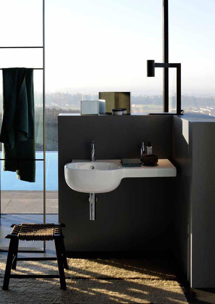 Casa moderna, roma italy: lavabo angolare cucina