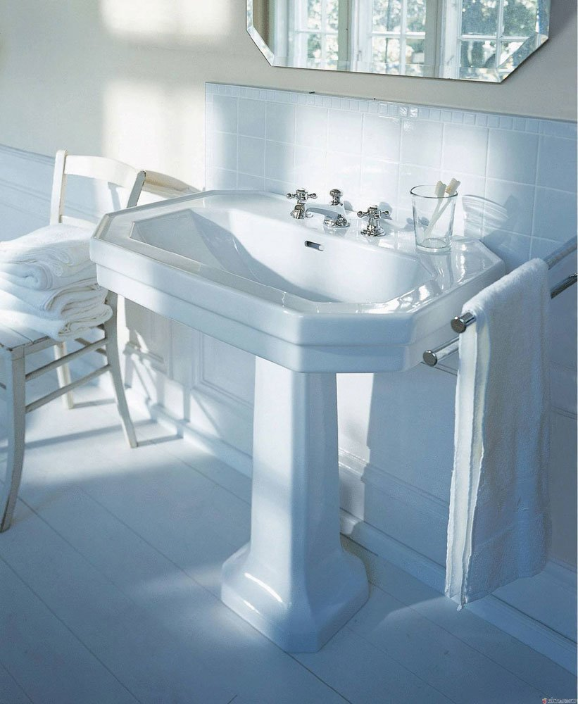 lavabo lavabo serie 1930 da duravit. Black Bedroom Furniture Sets. Home Design Ideas