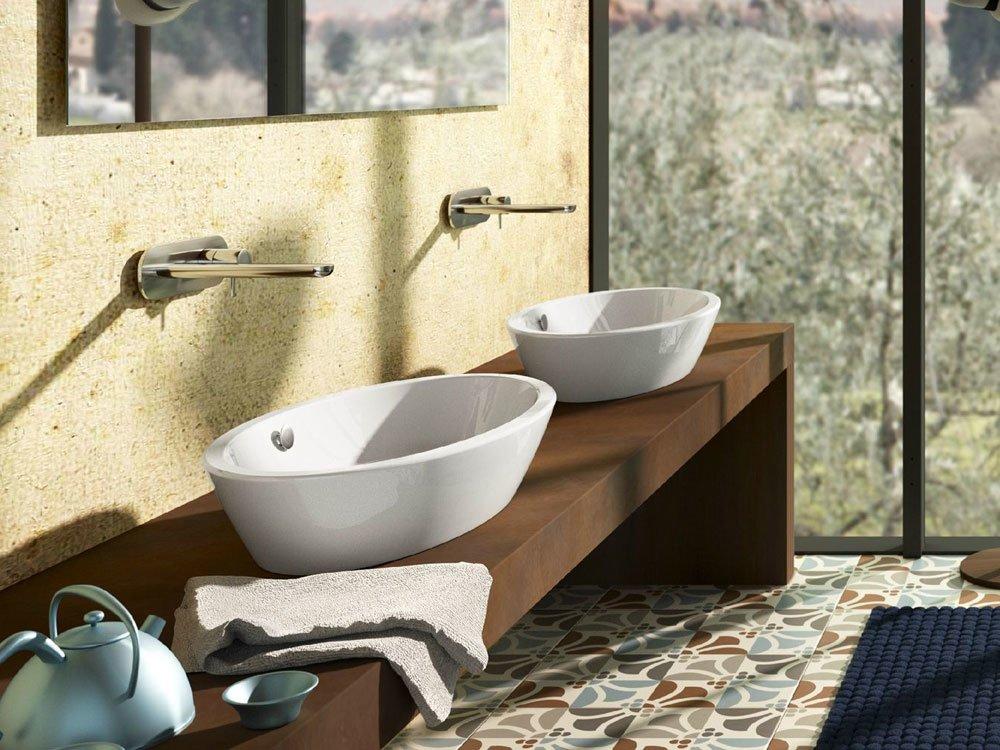 Lavabo lavabo velis 70 da ceramica catalano for Designbest outlet