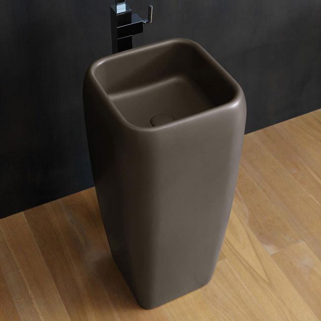 Washbasin: Washbasin Shui Freestanding By Ceramica Cielo