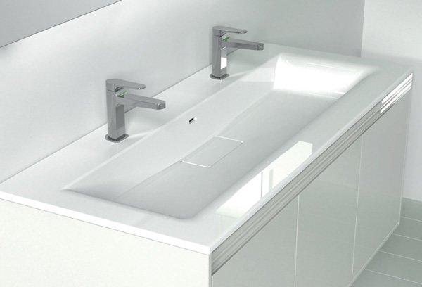 Lavabo lavabo panarea da inda - Lavabo 40 cm profondita ...