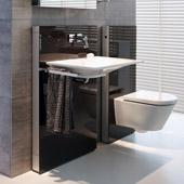 Modulo Monolith per lavabo e WC  da Geberit