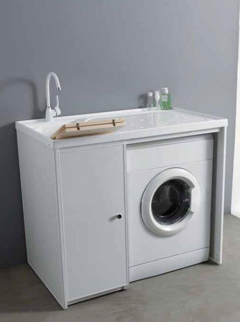 Mobile lavanderia tutte le offerte cascare a fagiolo - Mobile lavatrice e lavatoio ...