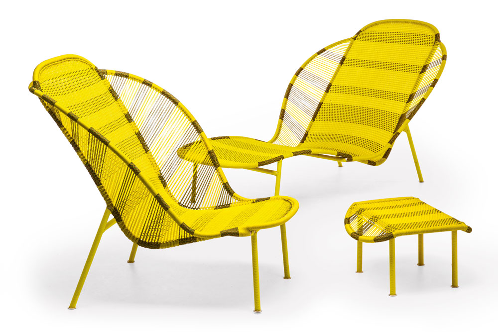 Sun beds and chaise longue chaise longue imba by moroso for Chaise longue canada