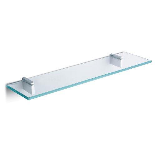 Mensole in vetro traspearente 50x12 spess 8 mm 3 pezzi in totale ...