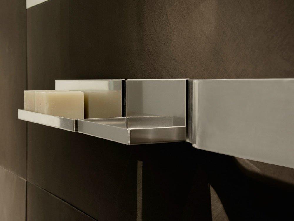 Mensole bagno mensola strip da moab 80 - Mensola acciaio bagno ...