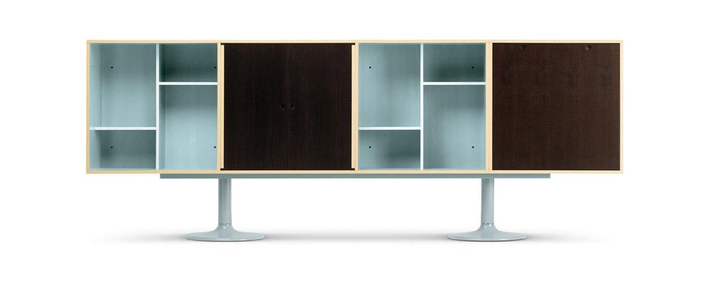 Mobili contenitori contenitore casiers standard da cassina for Le corbusier mobili