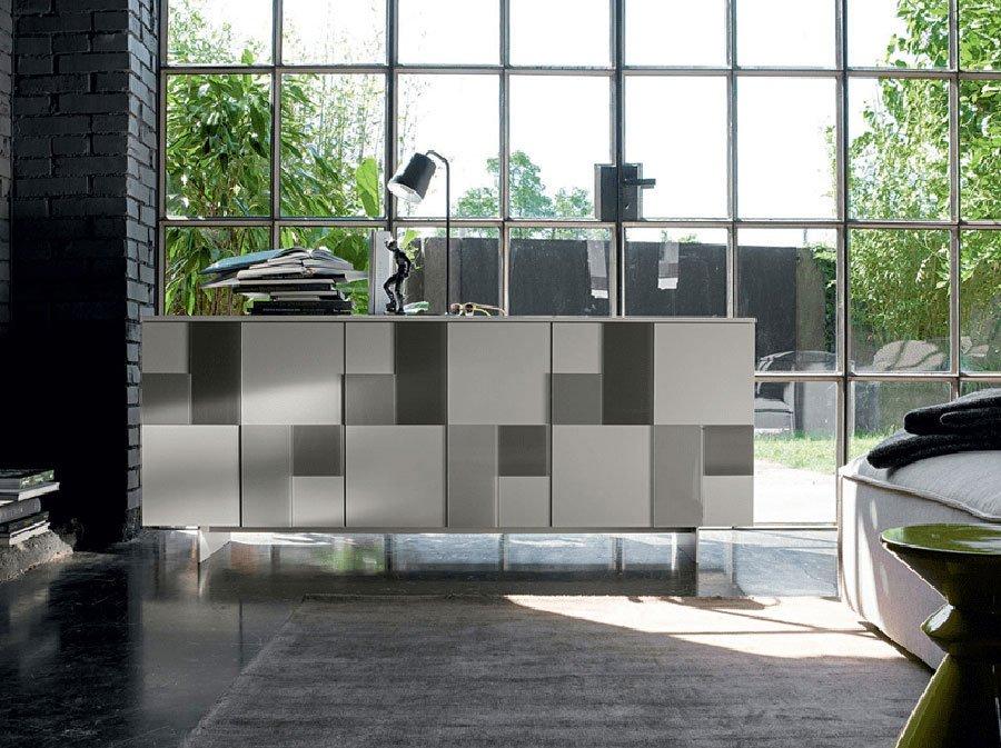 Mobili contenitori madia glass da dall 39 agnese for Outlet mobili sassari