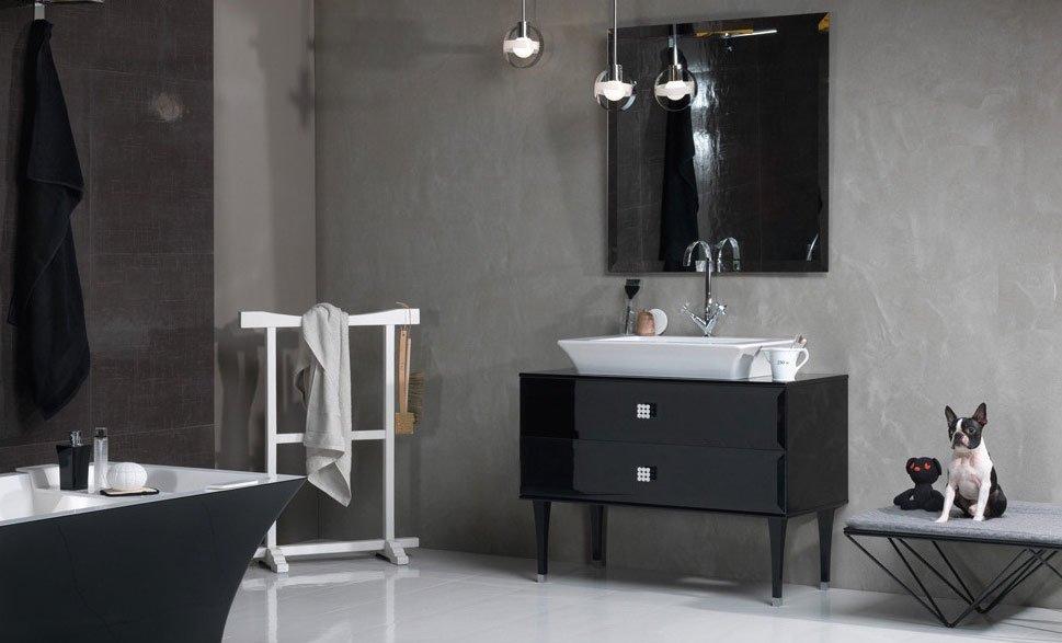 Mobili con lavabo composizione vintage da regia - Regia mobili bagno ...
