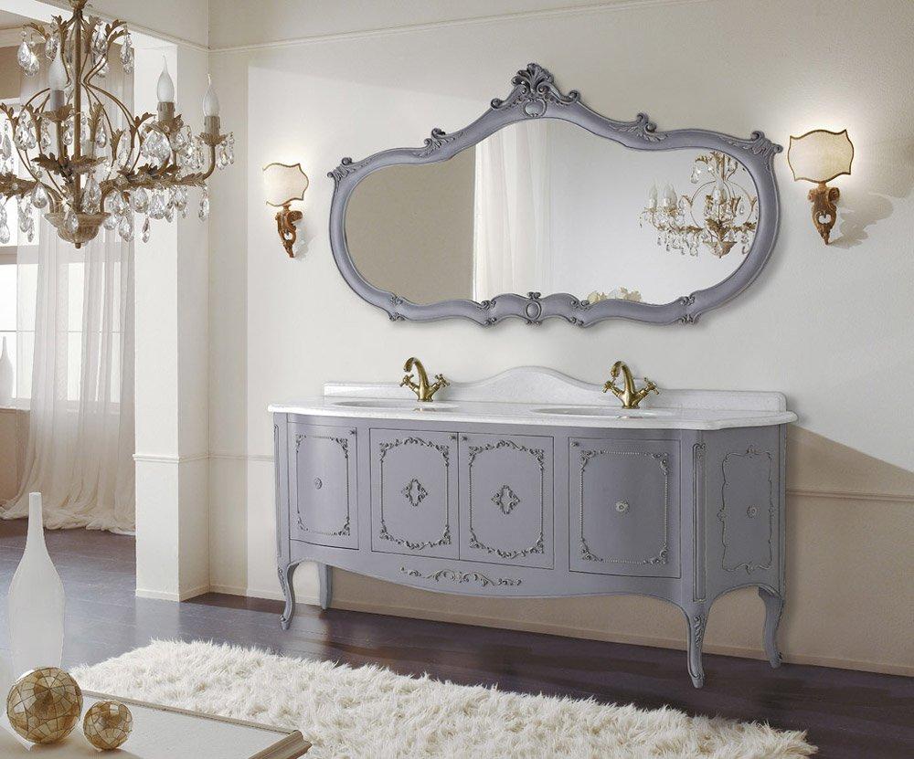 Mobili con lavabo composizione loira da mobili di castello for Negozi mobili usati trento