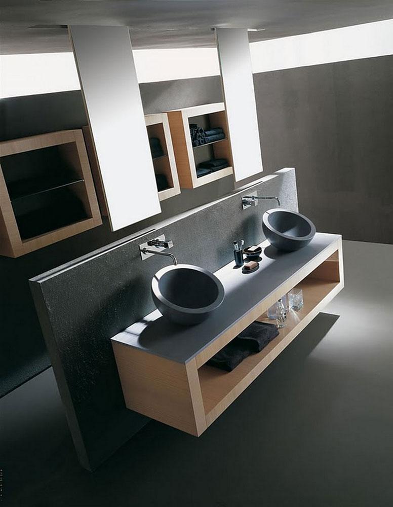 Mobili con lavabo composizione xil a da karol - Karol mobili bagno ...