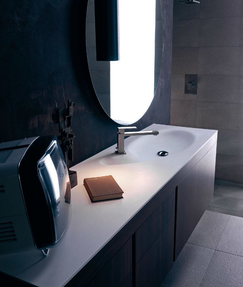 Mobili con lavabo composizione manhattan b da karol - Karol mobili bagno ...