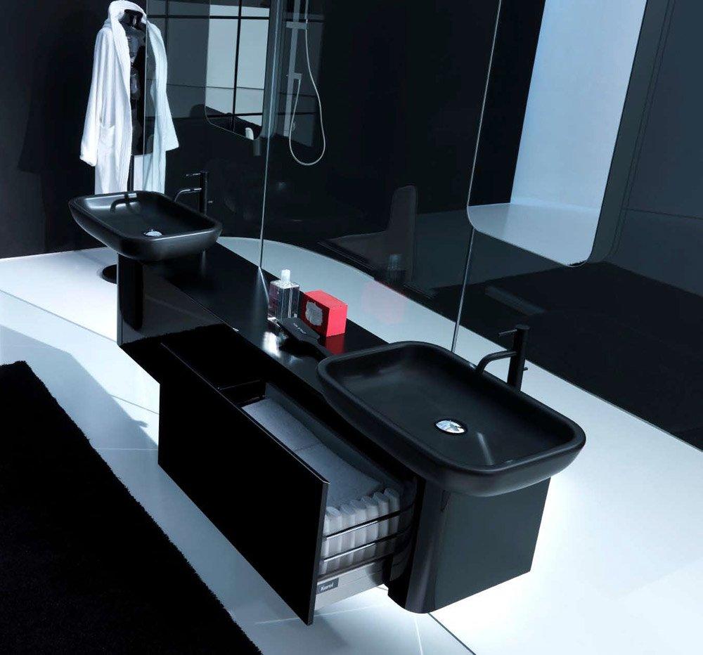 Mobili con lavabo composizione k08 b da karol - Karol mobili bagno ...
