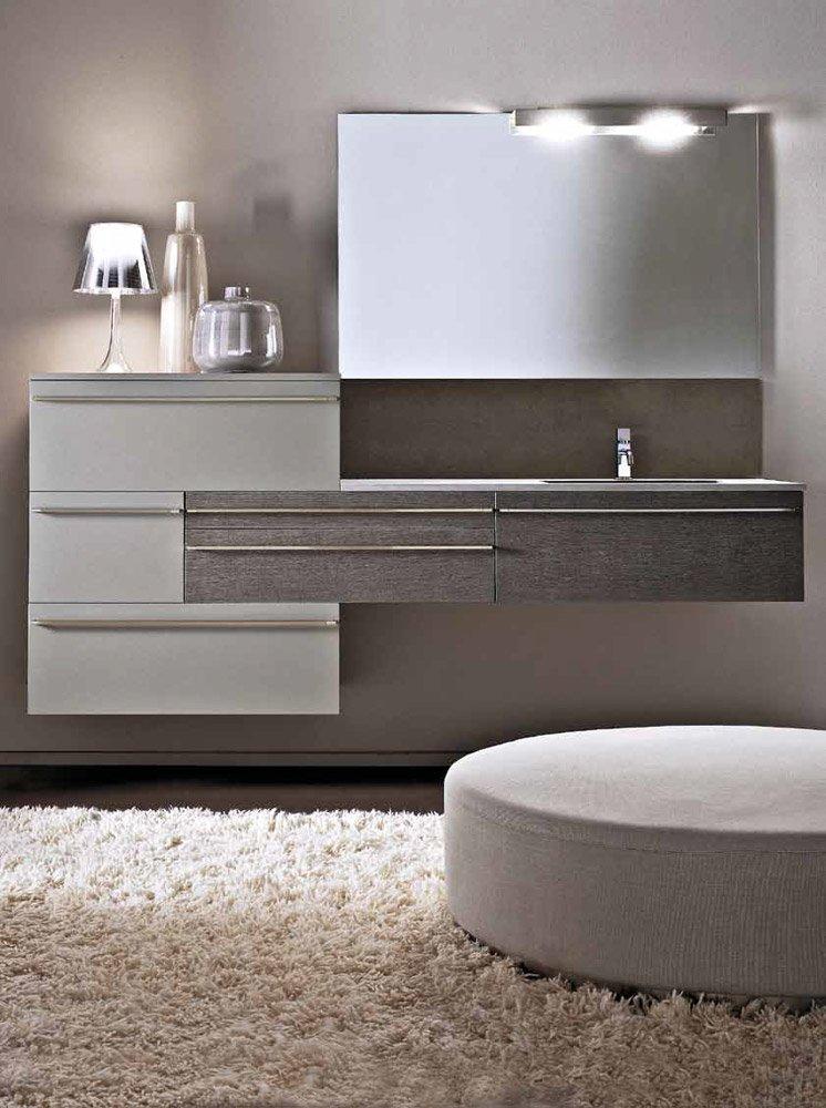 Mobili con lavabo composizione lignum b da karol - Karol mobili bagno ...