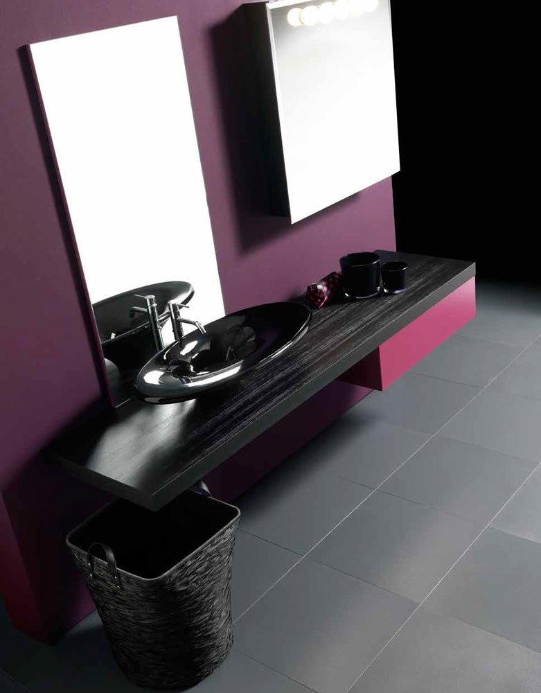 Mobili con lavabo composizione ks 09 da karol - Karol mobili bagno ...