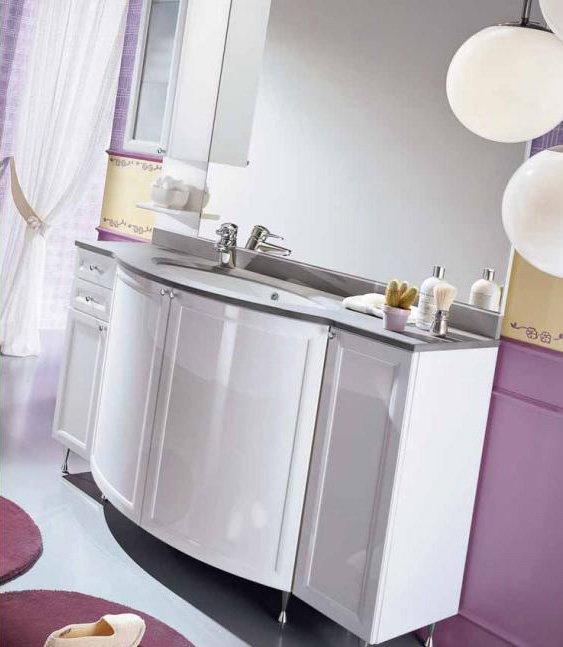 Mobili con lavabo composizione fenice 2 da idea for Negozi arredo bagno caserta