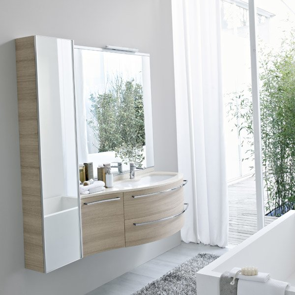 Mobili con lavabo composizione my fly evo 03 da idea for Idea bagno trento