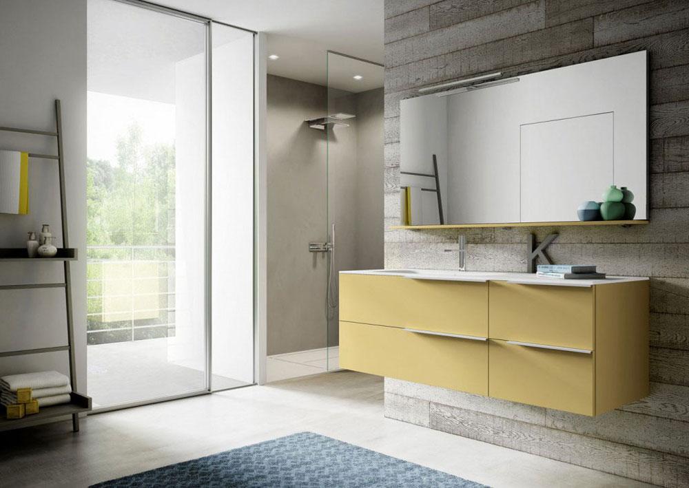 Mobili con lavabo composizione my time 10 da idea - Mini lavabo bagno ...