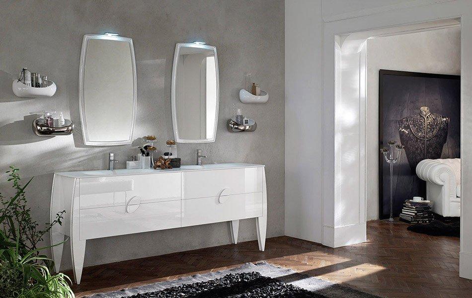 Mobili con lavabo composizione gl 02 da ardeco for Arredo bagno valle d aosta