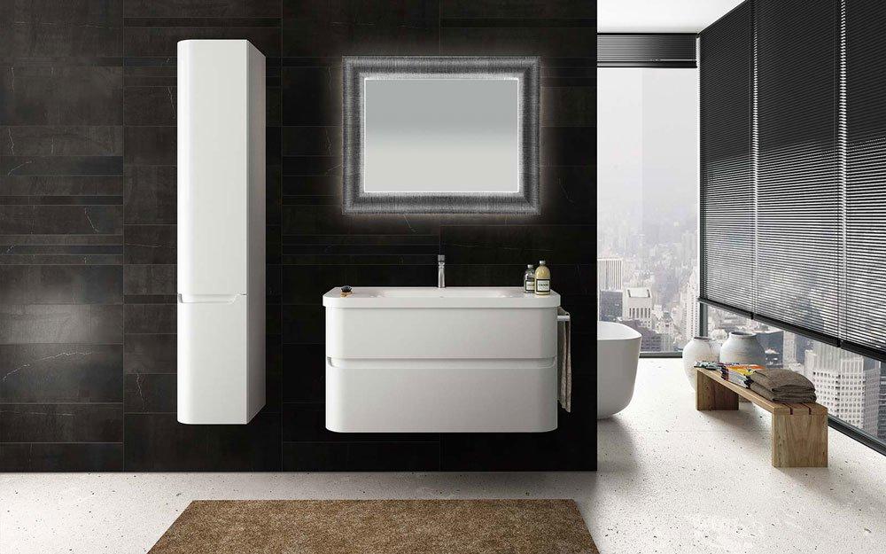 Mobili con lavabo composizione joy 03 da berloni bagno for Arredo bagno valle d aosta