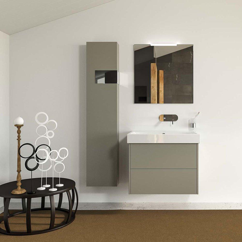 Mobili con lavabo composizione pulse 02 da berloni bagno for Webmobili outlet