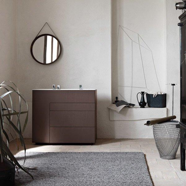 Mobili con lavabo composizione touch 03 da milldue for Antolini arredamenti