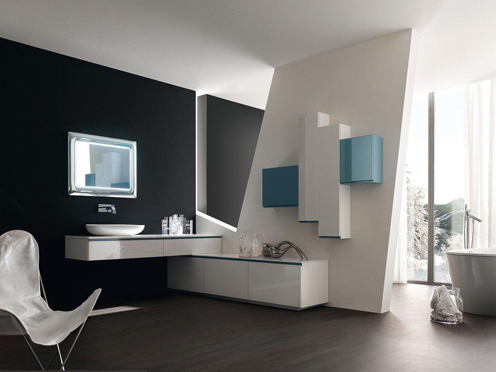 Mobili con lavabo composizione goya 30 da arcom - Mobili da bagno ad angolo ...