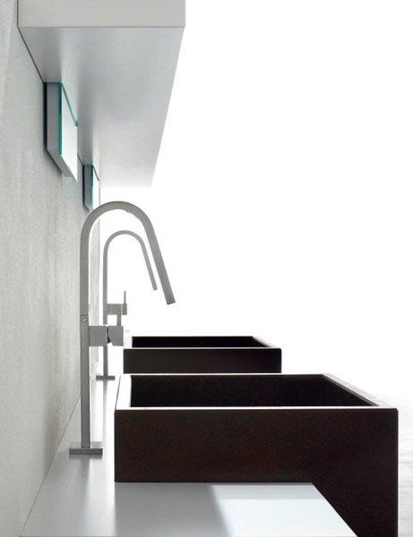 Mobili con lavabo composizione rush 21 da arcom - Bagno con due lavabi ...