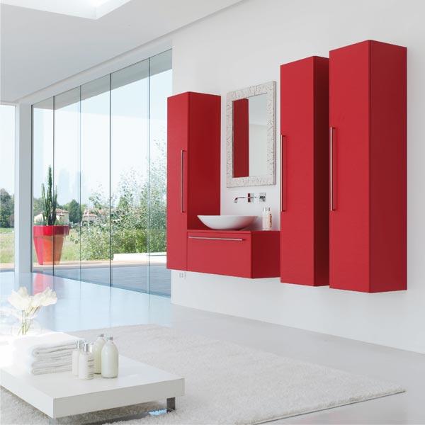Mobili con lavabo composizione metropolis a da azzurra - Azzurra mobili da bagno ...