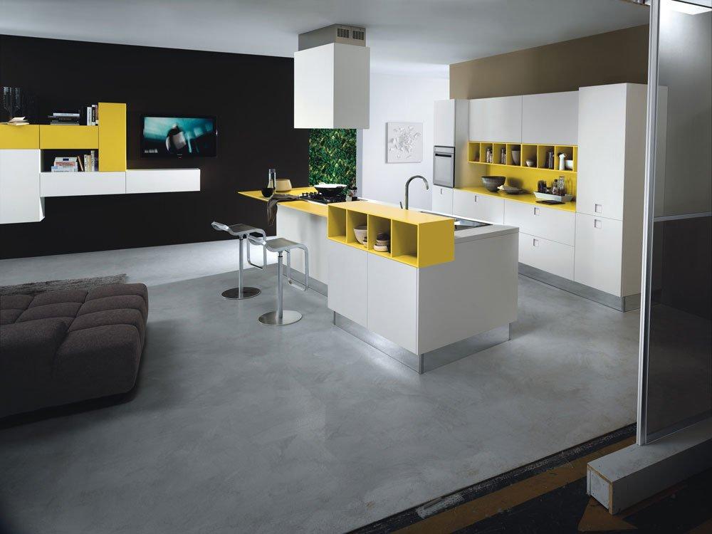 Mobili per cucina cucina quadra b da composit for Delta cucine trento