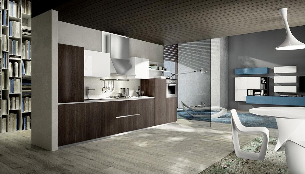 Mobili per cucina cucina mood c da composit for Delta cucine trento