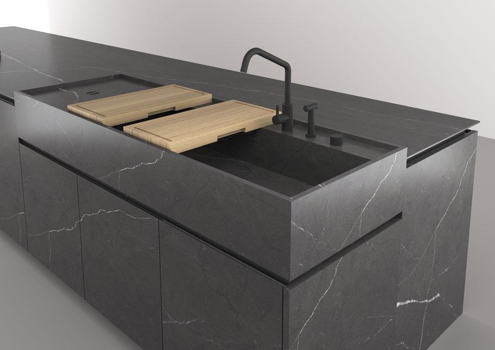 Mobili per cucina cucina boffi code da boffi kitchens for Boffi salle de bain