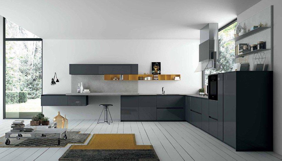 Mobili per cucina cucina aspen c da doimo cucine - Doimo cucine torino ...