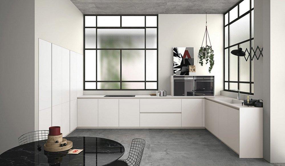 Mobili per cucina cucina aspen f da doimo cucine for Doimo cucine bolzano